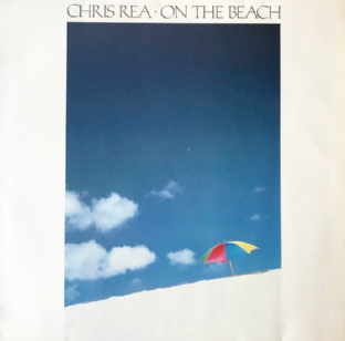 Chris Rea ‎- On The Beach (LP) (VG-/VG)